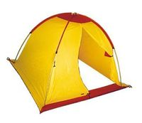 Палатка рыбака (желто-красная)