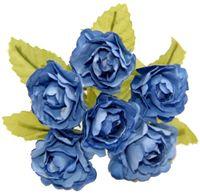 "Ветки для флористики ""Светло-голубой букет"" (арт. DKB149L)"