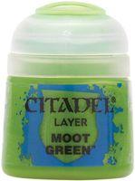 """Краска акриловая """"Citadel Layer"""" (moot green; 12 мл)"""