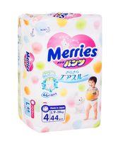 "Подгузники-трусики ""Merries L"" (9-14 кг; 44 шт.)"
