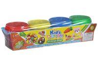 """Тесто для лепки """"Kid's Dough"""" (4 цвета)"""