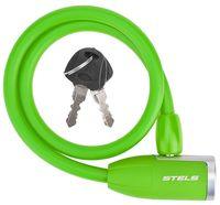 """Велозамок на ключ """"84356"""" (65 см; зелёный)"""