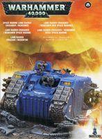 "Миниатюра ""Warhammer 40.000. Space marine Land Raider Crusader/Redeemer"" (48-30)"