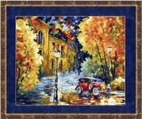 """Вышивка крестом """"Осенний марафон"""" (285х345 мм)"""