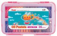 """Пастель масляная в розовом боксе """"Oil Pastels"""" (36 цветов)"""