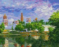 """Картина по номерам """"Новодевичий монастырь"""" (400х500 мм)"""
