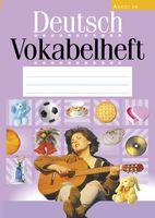 Deutsch Vokabelheft. Немецкий язык. Тетрадь-словарик (сиреневая обложка)