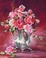 """Вышивка бисером """"Оригинальные розы"""" (230х280 мм)"""
