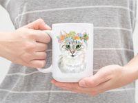 """Кружка """"Кошка"""" (арт. 067)"""