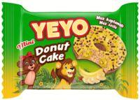 """Пончик """"Yeyo. С банановым кремом"""" (25 г)"""