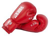 Перчатки боксерские REX BGR-2272 (12 унций; красные)