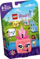 """LEGO Friends """"Кьюб Оливии с фламинго"""""""