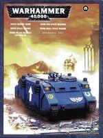 """Миниатюра """"Warhammer 40.000. Space Marine Rhino"""" (48-12)"""