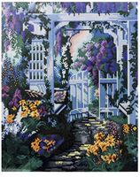"""Алмазная вышивка-мозаика """"В саду"""" (400x500 мм)"""