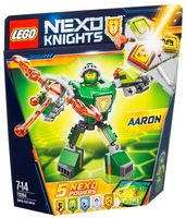 "LEGO Nexo Knights ""Боевые доспехи Аарона"""