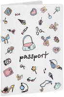 """Обложка для паспорта """"Дамские штучки"""" (арт. 29052)"""