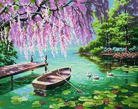 """Картина по номерам """"Весенняя красота"""" (280х360 мм; арт. 91491-73-DMS)"""