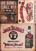 """Бумага для декупажа рисовая """"Виски, мотоцикл, пистолет"""" (210х300 мм)"""