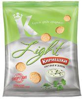 "Сухарики ""Light"" (33 г; сметана и зелень)"