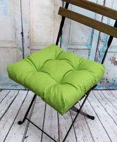 """Подушка на стул """"Monochrome"""" (40х40 см; зелёная)"""