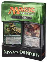 Magic the Gathering. Duel Deck. Nissa vs Ob Nixilis