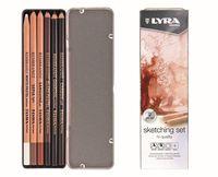 """Набор карандашей художественных """"Lyra Sketching Set"""" (6 шт.)"""