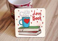 """Подставка под кружку """"Love book"""" (art. 41)"""