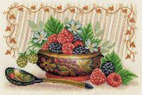 "Вышивка крестом ""Садовые ягоды"" (300х210 мм)"