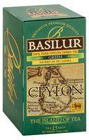 """Чай зеленый """"Basilur. Green"""" (25 пакетиков)"""