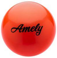 Мяч для художественной гимнастики AGB-101 (15 см; оранжевый)