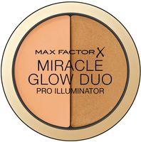 "Хайлайтер для лица ""Miracle Glow Duo"" тон: 30, deep"