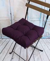 "Подушка на стул ""Monochrome"" (40х40 см; фиолетовая)"