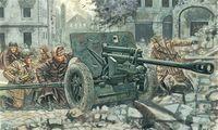 """Противотанковая пушка """"Antitank Gun ZIS-3"""" (масштаб: 1/72)"""