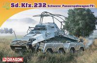 """Тяжелый бронеавтомобиль """"Sd.Kfz.232 Schwerer Panzerspähwagen FU"""" (масштаб: 1/72)"""