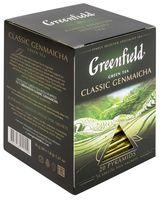 "Чай зеленый ""Greenfield. Classic Genmaicha"" (20 пакетиков)"