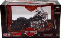 "Модель мотоцикла ""Harley-Davidson FLHRC Road King"" (масштаб: 1/12)"