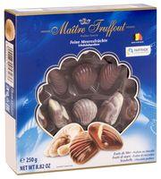 """Конфеты глазированные """"Ассорти. Pralines sea shells blue"""" (250 г)"""