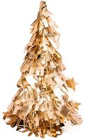 """Новогодняя ёлка """"Золотая мишура"""" (25 см; арт. H-101a)"""