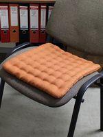 "Подушка на стул ""Ecology"" (40х40 см; паприка)"