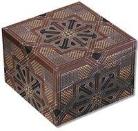 """Шкатулка Paperblanks """"Dhyana Square Kirikane """" (формат: мини, 100 x 100 x 68 мм)"""