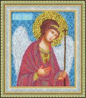 """Вышивка бисером """"Икона Ангел Хранитель"""" (154х129 мм)"""