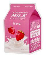 """Тканевая маска для лица """"Strawberry Milk"""" (21 г)"""