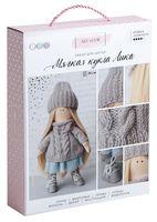 """Набор для шитья из ткани """"Кукла Лика"""""""