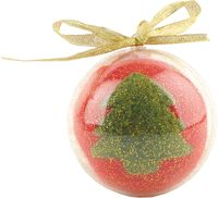 Новогодний шар в футляре (красный, зеленый)