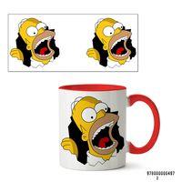 """Кружка """"Симпсоны"""" (497, красная)"""