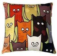 "Подушка ""Коты"" (35x35 см; арт. 06-589)"