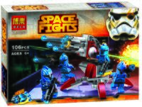 """Конструктор """"Space Wars. Элитное подразделение Коммандос"""" (106 деталей)"""