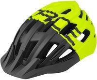 """Шлем велосипедный """"Corella MTB"""" (черно-салатовый; р. M-L)"""