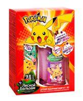 """Подарочный набор детский """"Pokemon"""" (зубная паста, зубная щётка, ополаскиватель)"""