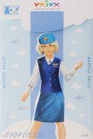 """Игровой набор из картона для девочек """"Наряжай и играй. Кукла Профессия"""""""
